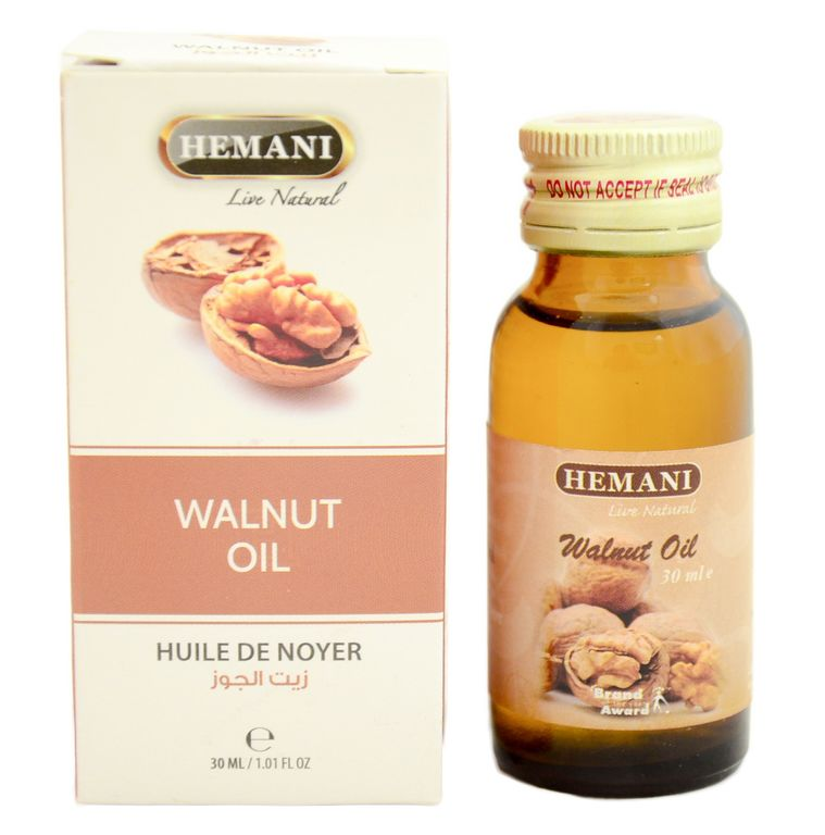Хемани масло Грецкого ореха, 30 мл. Hemani Walnut oil.