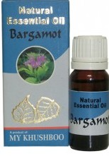 Эфирное натуральное масло Бергамота, 10мл. Natural Essential Oil Bargamot.